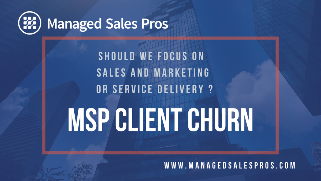 managed services client churn