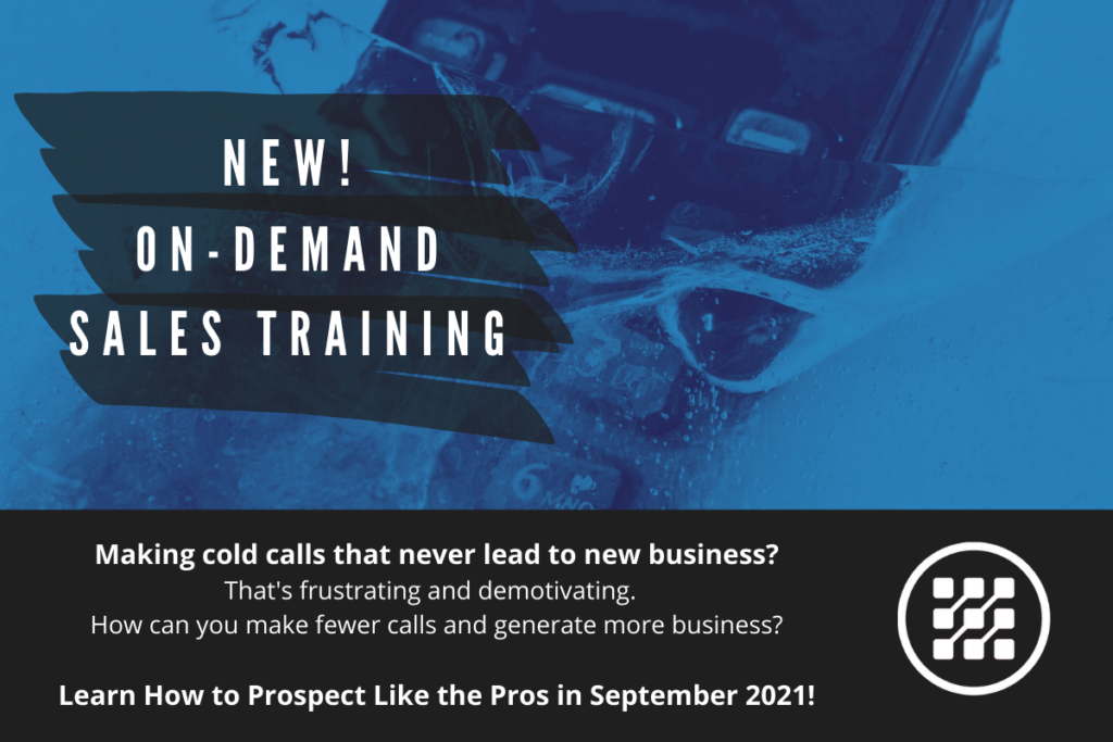 Cold Calling for MSPs phone in icewater managed sales pros